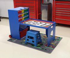 Portable Lego Table & Storage