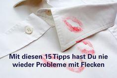 Wie Du die 15 häufigsten Flecken auf Kleidung am besten behandelst.
