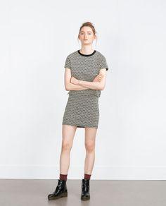 ZARA - WOMAN - JACQUARD TOP Ref. 5039/285 $19.90