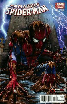Amazing Spider-Man (2014 3rd Series) 1GAMESTOP