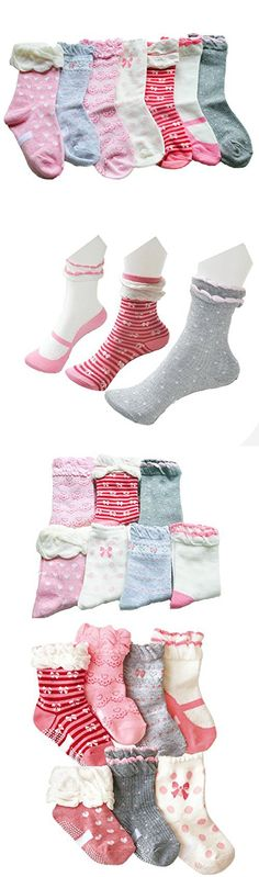 Mblc Kids Socks Non Skid Non Slip Comfortable Thick Cotton Baby