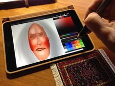 Jot Touch 4 + Procreate + iPad Painting Tutorial by 710Films...