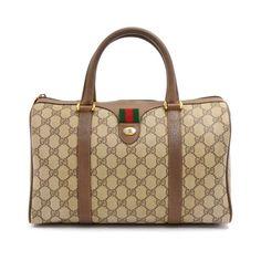 c29393eb77c7 Boston cloth handbag Gucci Beige in Cloth - 6621056 Vintage Gucci