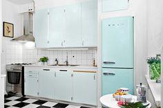50-tals kök med moderna inslag!
