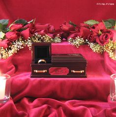 The wedding ring coffin