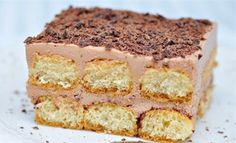Lahodné čokoládové tiramisu   NejRecept.cz Tiramisu, Torte Cake, Cheesecake, Ethnic Recipes, Desserts, Food, Cakes, Basket, Tailgate Desserts