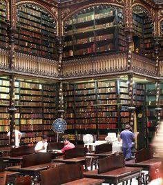 Royal Portuguese Reading Cabinet.   Rio de Janeiro.   Brazil