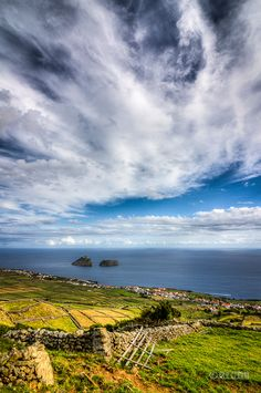Azores by Rui Cunha on Beautiful Islands, Beautiful Places, Places To Travel, Places To See, Terceira Azores, Portuguese Culture, Sea To Shining Sea, Spain And Portugal, Landscape Pictures