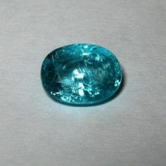 Batu Permata Natural Apatite Bluish Green 2.04 carat