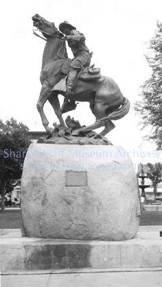 Rough Rider Monument; Prescott, Arizona, after 1920 ck