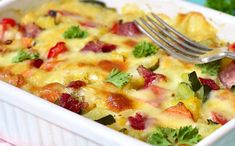 WW Vegetable Gratin with Fresh Goat Cheese - Main Course and Recipe - Repas noel - Meat Recipes Meat Recipes, Healthy Recipes, Clean Eating, Healthy Eating, Evening Meals, Fresco, Macaroni And Cheese, Food And Drink, Veggies