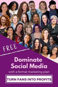 Profitable social media requires a formal marketing plan. Create yours alongside 20+ industry-leading experts. Get your FREE ticket & get ready to turn FANS onto PROFITS!