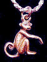 Spider Monkey Charm Rose Gold Plated Jewelry Chimpanzee   eBay