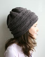 Ravelry: Oversized slouchy hat 08 pattern by Luz Mendoza