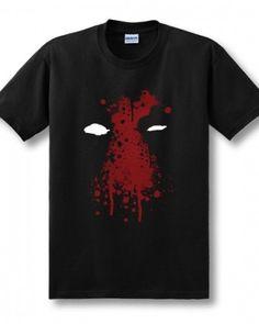 Deadpool black mens tshirt X-men short sleeve-