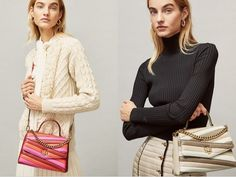 Tory Burch Semi-Annual Sale Up to 60% off- Extra 25% Off + Free Shipping #handbags #totebags #handbagsdesigner #handbagshoes Semi Annual Sale, Satchel Handbags, Chevron, Tory Burch, Free Shipping, Color, Tops, Colour, Colors