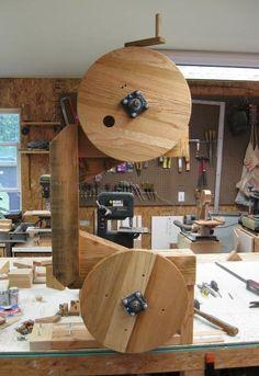 Lee Zimmer's bandsaw