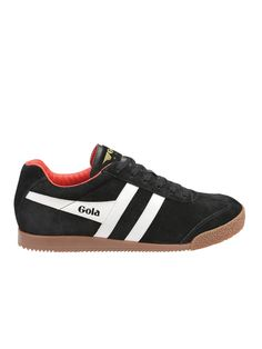 PRODUCT DETAILS Gola men's trainer, Gola Harrier was originally created in  1968 and was suitable for a variety of sports and general training.