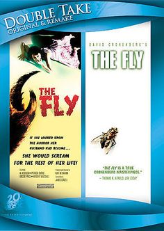 The Fly (1958) / The Fly (1986) (Double Take) 24543525127 | eBay