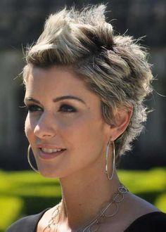 back of short haircuts | Krótkie fryzury damskie - uczesania na 2014 rok