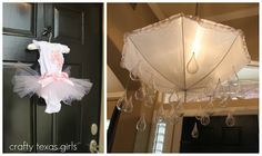 Adorable baby shower decor.
