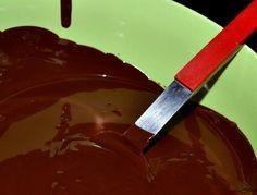 Baño de chocolate y miel
