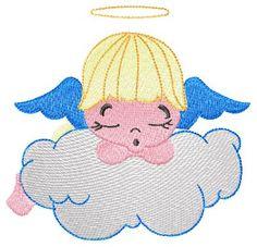"Free embroidery pattern ""Little angel""free embroidery designs | free embroidery designs"