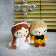 Customiseable Amirugumi Wedding Dolls