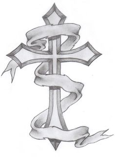 They may have some barbed wire around the free cross tattoo designs pictures, the middle of the cross or the cross may also be intertwined with a dagger. Description from pinterest.com. I searched for this on bing.com/images