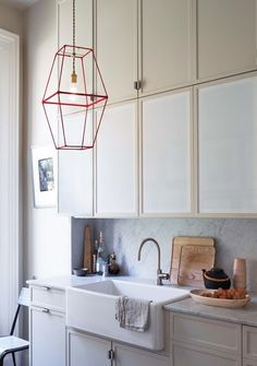 Cool Kitchen Details:  A Geometric Pendant Lamp (Which You Can Make Yourself!)  — Kitchen Inspiration