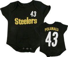 Troy Polamalu Black Pittsburgh Steelers Infant « Clothing Impulse