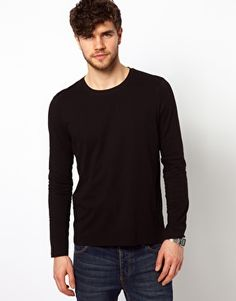 Enlarge ASOS Crew Long Sleeve Top With Pocket 13,58€ | Buy Now ...