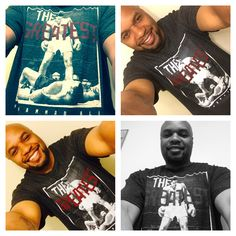 T-Shirt of the day! Float like a butterfly, sting like a bee! Rumble young man rumble!! #TSOTD #thegreatest #ali #heavyweightchamp #ishookuptheworld