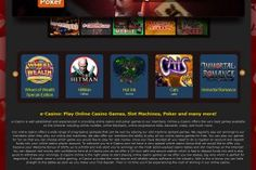 Enter the World's finest Casino and feel the thrill and excitement of 24/7 live play! Play @ Megajackpot.com and Get your FREE 250 Euros