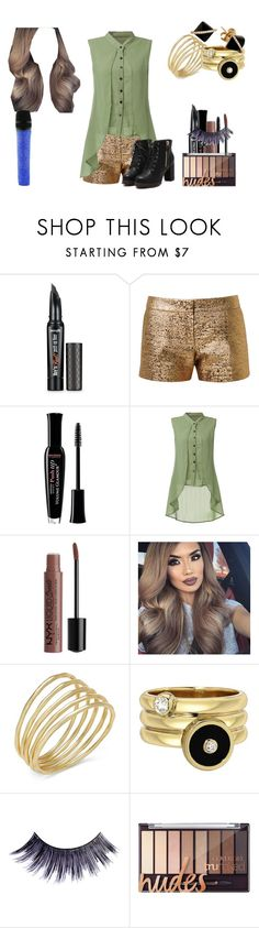 """Lillian Lockstar In ""Born This Way"""" by shestheman01 ❤ liked on Polyvore featuring Benefit, Lanvin, Bourjois, Dolce&Gabbana, Lauren Ralph Lauren, Manic Panic NYC, Madyha Farooqui and Swarovski"