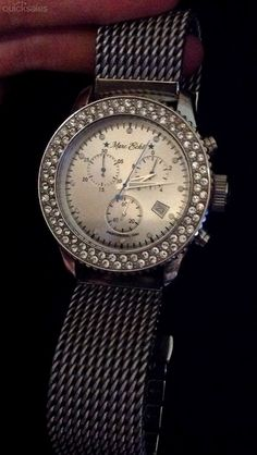 Marc Ecko General Crystal Chronograph Mens Watch E17500G1 by Jessica-Dianne - $120.00