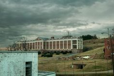 View of Wheary Building from a window; Western State Hospital (Virginia)