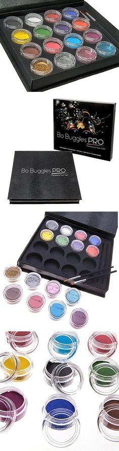 Face Paint and Stage Makeup 175644: Bo Buggles Prof Water-Based Face Paint Kit, Xl Palette Non-Toxic, W 50 Stencils -> BUY IT NOW ONLY: $40.3 on eBay!