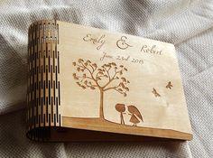 Wedding Guest Book, Wedding Book, Guest Book, Handmade Wedding Guest Book