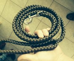 Paracord Dog Leash. This instructable will show you how to make a tough and durable paracord dog leash for you and your 4-legged friend! Take your pooch hiking, camping, or just outside your house! This leash will hold up in the toughest terrains and in the worst weather, it is truly a great accessory for any outdoors-man.