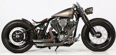 The Legend of Harley Davidson Sportster: Quentin Vaulet: un bobber signorile! #harleydavidson #sportster #bobber