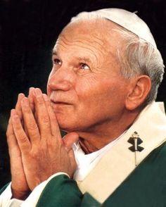 What  GREAT Saint! I love you JP II! ❤️