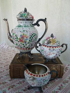 Tea Time Cottage Style by BrokenMemories on Etsy, $175.00