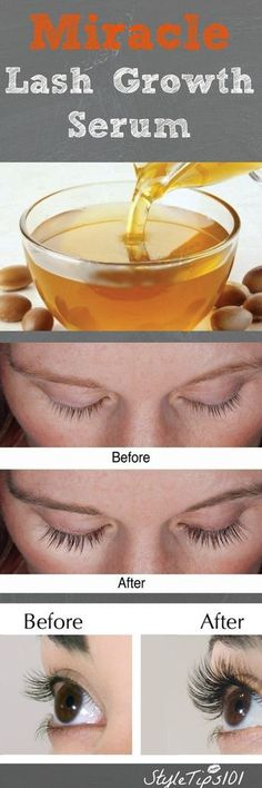 DIY Lash growth serum using only Coconut oil and castor oil. Make your own lash growth serum.