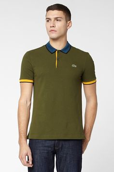 Lacoste L!VE Short Sleeve Semi Fancy Pique Polo : L!VE