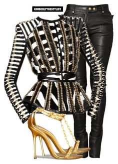A fashion look from December 2015 featuring Balmain and Tom Ford. Browse and shop related looks. Cute Swag Outfits, Classy Outfits, Chic Outfits, Girl Outfits, Fashion Outfits, Tomboy Outfits, Emo Outfits, School Outfits, Black Girl Fashion