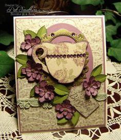 ~Lavender Tea~ by Blooms in a Box - Cards and Paper Crafts at Splitcoaststampers