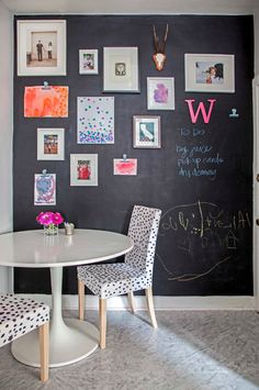 Ever wanted to create a huge chalkboard wall? This is a fun DIY project your kids will love you for!