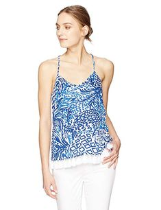 4c61b8142e05 Lilly Pulitzer Women s NYA Tank Review Lucky Brand Tops