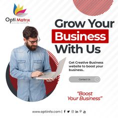 Looking to grow your business? But finding tough to get the customers?  Why not to make your business a global reach which can avail on one click to your customer?  Get a creative website for your business now make your business grow.  🖥️ www.optiinfo.com  📩 info@optiinfo.com  📲 +91 8128361116  🔗 wa.me/918128361116  #growonline #design #brand #brandingdesign #branding #brandpromotion #onlinemarketing #digitalmarketing #marketing #advertising #marketingagency #socialmediamarketing Website Design Services, Website Design Company, Online Marketing, Social Media Marketing, Digital Marketing, Branding Design, Logo Design, Brand Promotion, Competitor Analysis